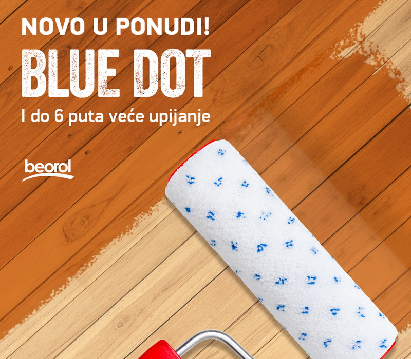 Novi valjci Blue Dot