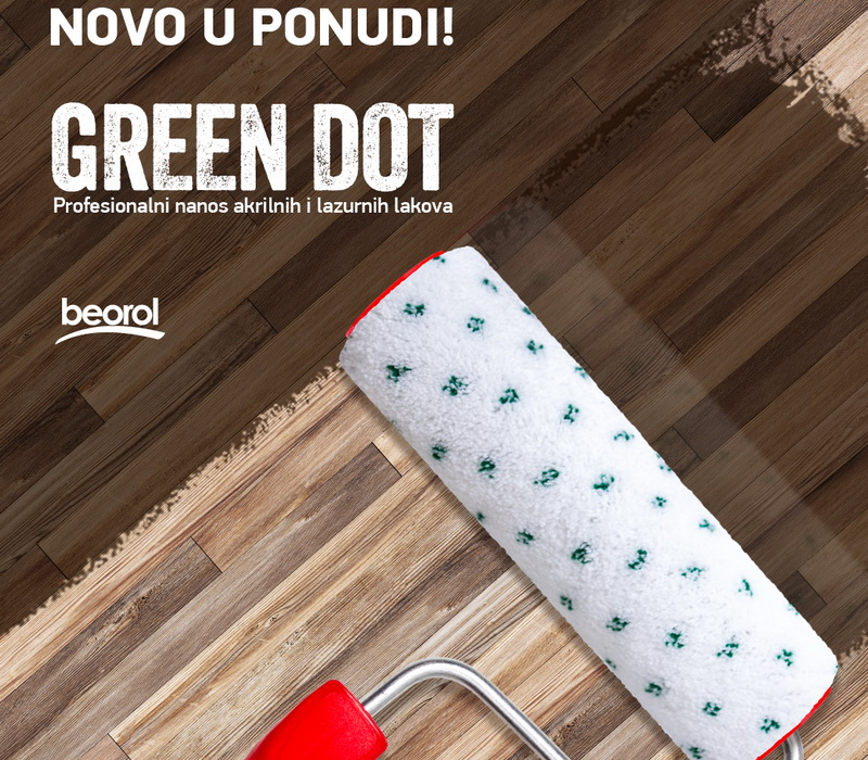 Novi valjci Green Dot