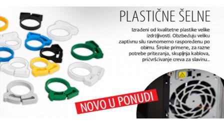 Plastične šelne
