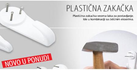 Plastična zakačka