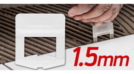 Spona 1.5mm za nivelisanje pločica