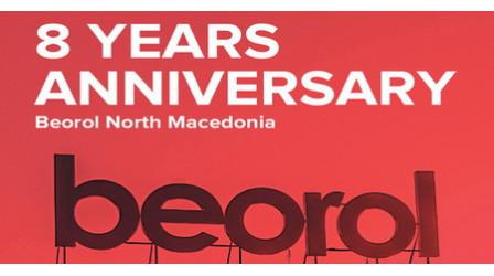 Osam godina postojanja Beorol Severna Makedonija