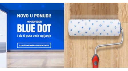 Novi valjci - Blue Dot