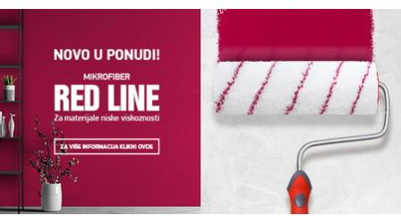 Novi valjci - Red Line