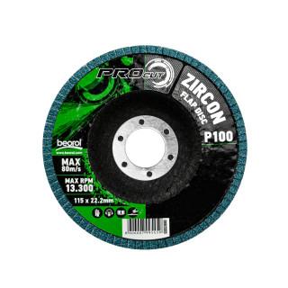 Brusni disk zirkon, ø115mm, granulacija 100