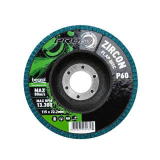 Brusni disk zirkon, ø115, granulacija 60