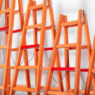 Drvene merdevine Standard 2x4
