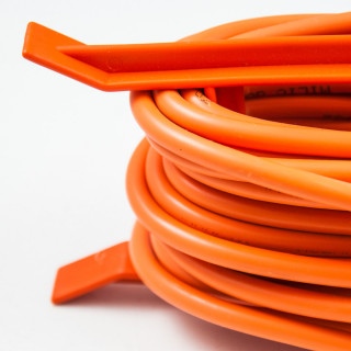 Jednostruka prenosna priključnica 30m oranž