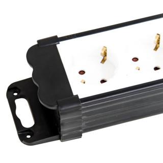 Produžni kabl sa prenaponskom zaštitom 7 utičnica 1.4m