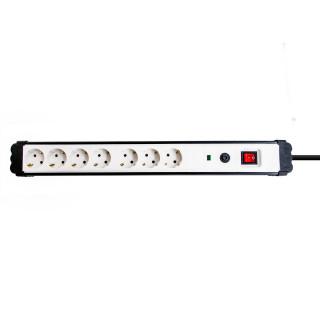 Produžni kabl sa prenaponskom zaštitom 7 utičnica 3m