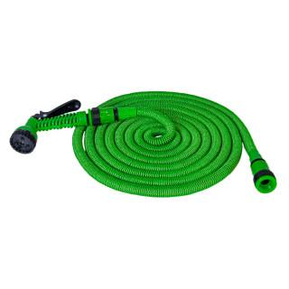 Baštensko rastegljivo crevo 15m - Zeleno