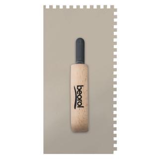 Gleterica rostfraj nazubljena 6x6 kratka osnova drvena drška