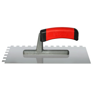 Gleterica rostfraj profesional soft drška nazubljena 10x10mm