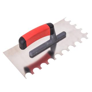 Gleterica rostfraj profesional soft drška polukružno nazubljena