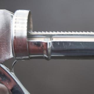 Pištolj za silikon hromirani 225mm