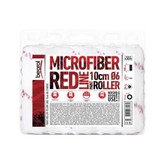 Radijator valjak Mikrofiber Red line 10cm rezerva