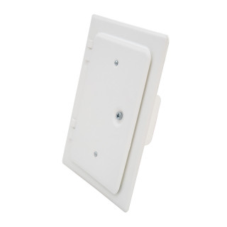 Vrata dimnjaka bela 120x180