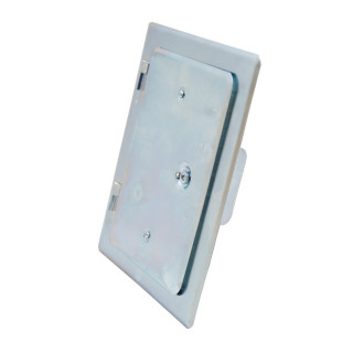 Vrata dimnjaka pocinkovana 120x180