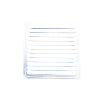 Ventilaciona rešetka bela Ø 100, 150x150 bn