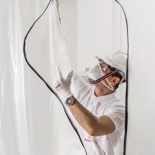 Zaštitna vrata protiv prašine 1.3 x 2.3m