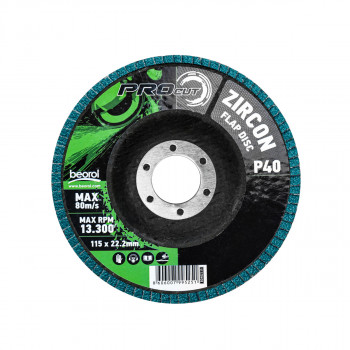 Brusni disk zirkon granulacija 40