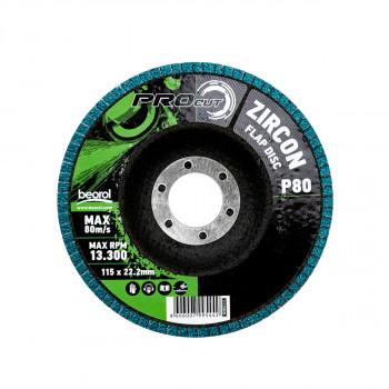 Brusni disk zirkon granulacija 80