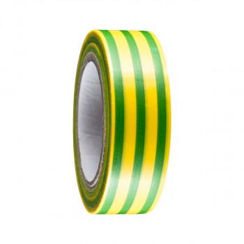 Izolir traka 19mm x 10m žuto/zelena