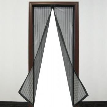 Magnetna zavesa protiv insekata, crna