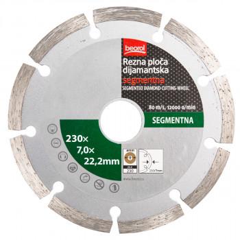 Rezna ploča dijamantska segmentna 230mm