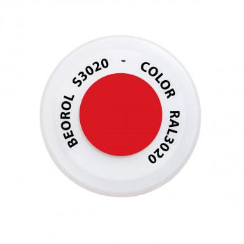 Sprej crvena Traffico RAL3020
