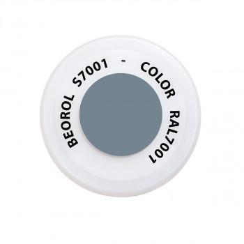 Sprej siva Argento RAL7001