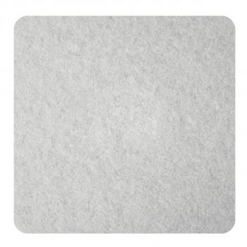 Samolepljive podloške od filca, bele 100 x 100 x 3mm