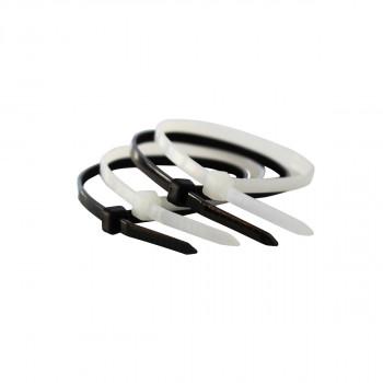 Vezica plastična crna 4.8x300mm 100 kom.