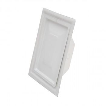 Vrata dimnjaka bela 110x150