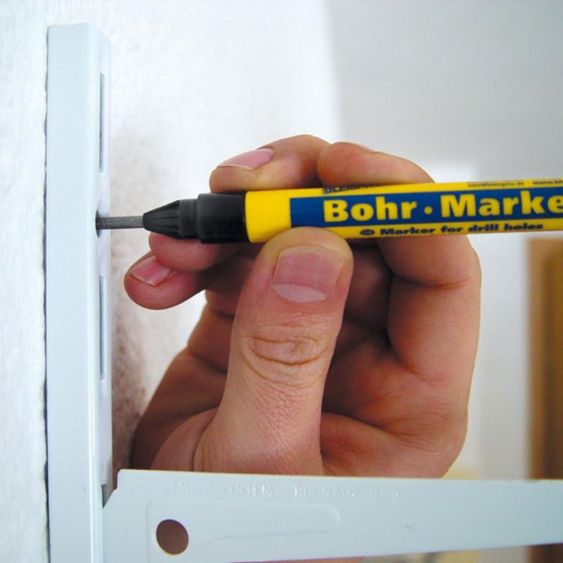 Marker obeleživač za bušenje rupa