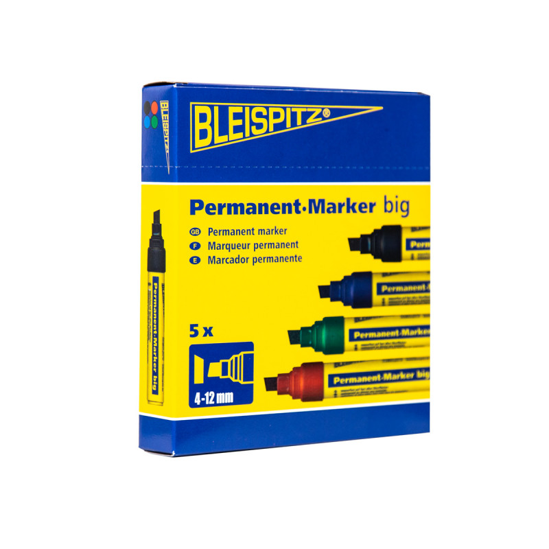 Marker permanentni BIG, 4-12 mm, crna