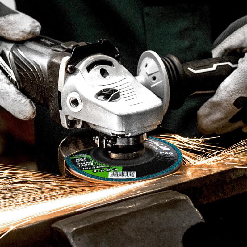 Brusni disk zirkon, granulacija 120, ø115mm