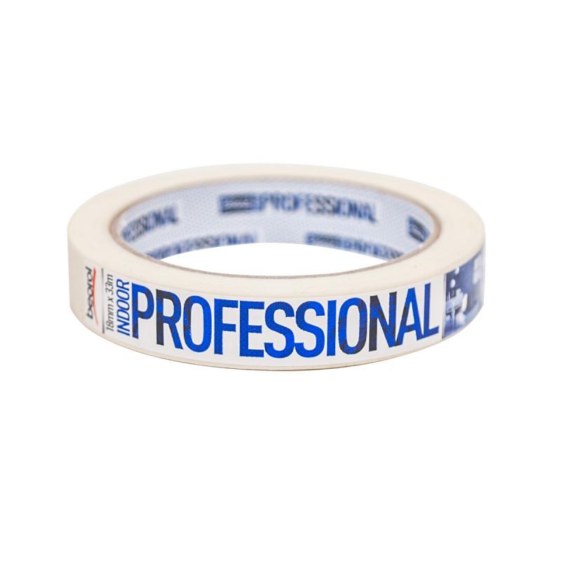 Krep traka Indoor Professional, 18mm x 33m, 70ᵒC