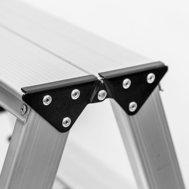 Dvostrana aluminijumska platforma 2 stepenika