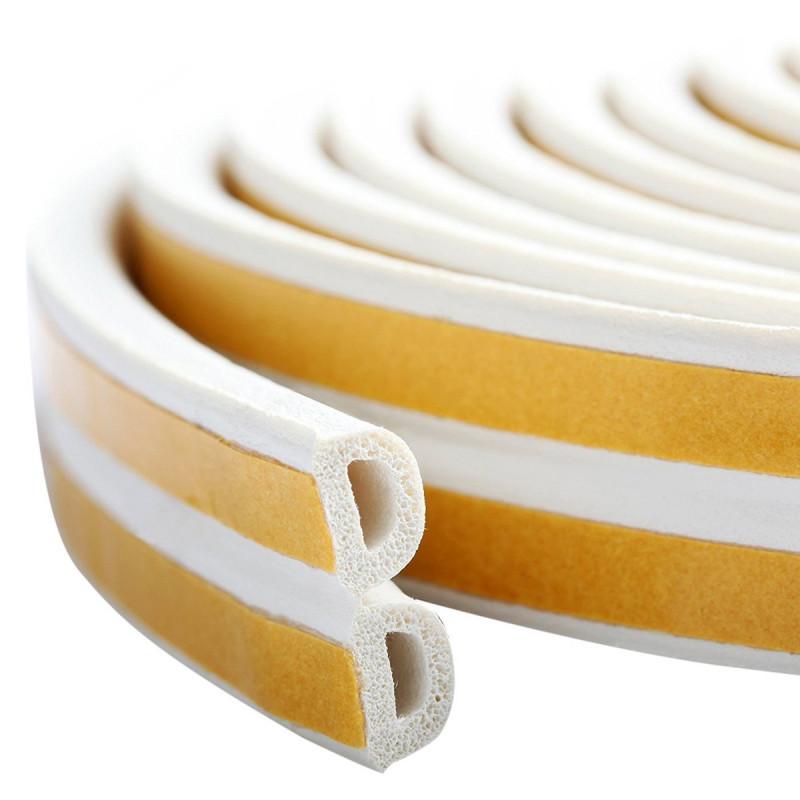 Samolepljiva dihtung traka 2x50m, D-profil, bela