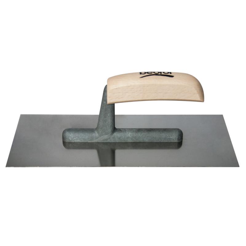 Gleterica Inox, drvena drška kratka osnova, 280x130mm