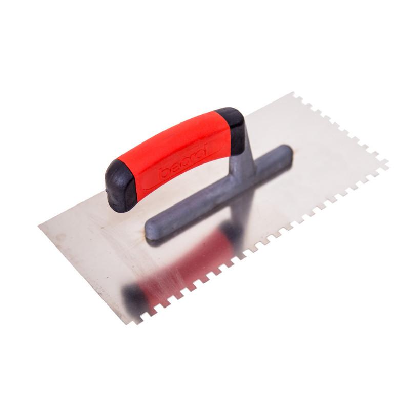Gleterica rostfraj profesional soft drška nazubljena 6x6mm