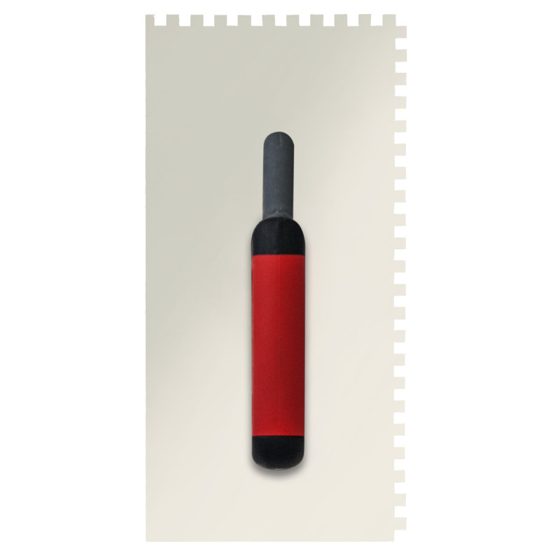 Gleterica Rostfrei, profesional soft drška nazubljena 6x6mm