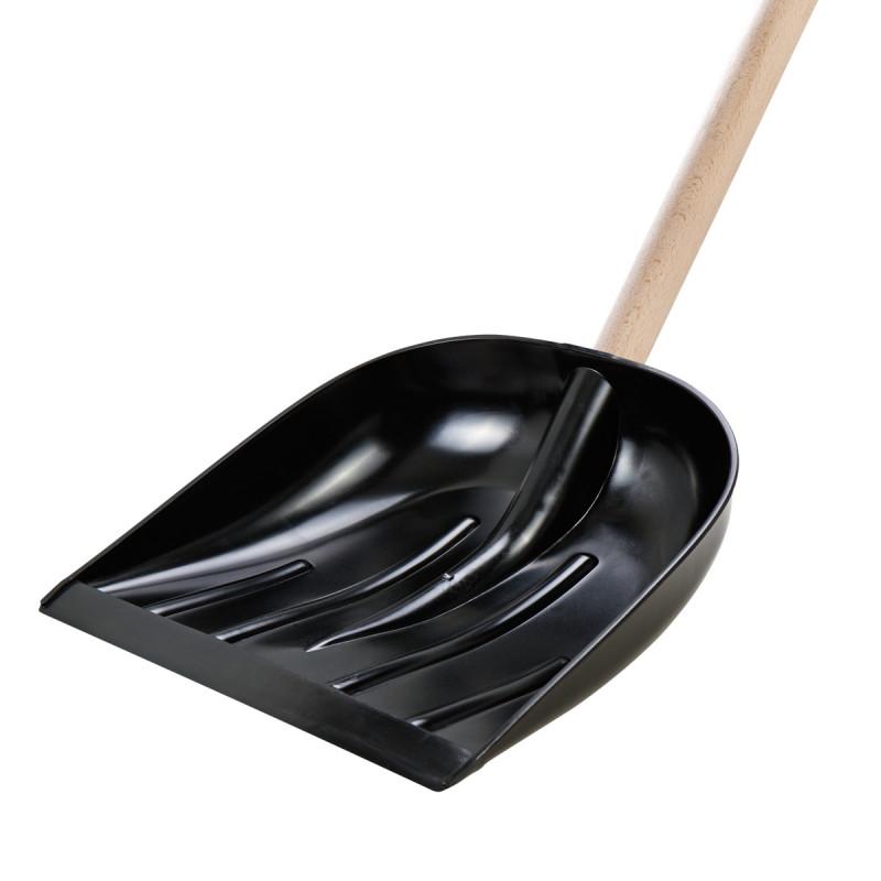 Lopata za sneg, 40x40cm, crna