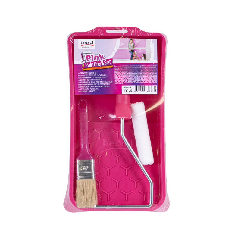 Kreativni set za farbanje - roze boje