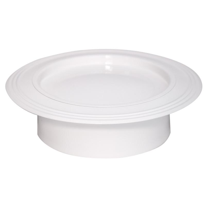 Rozetna bela Ø 130mm