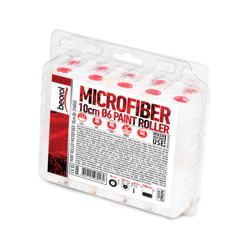 Radijator valjak Mikrofiber 10cm, rezerva 10k
