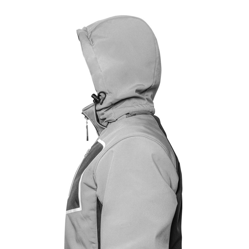 Radna jakna softshell sa kapuljačom