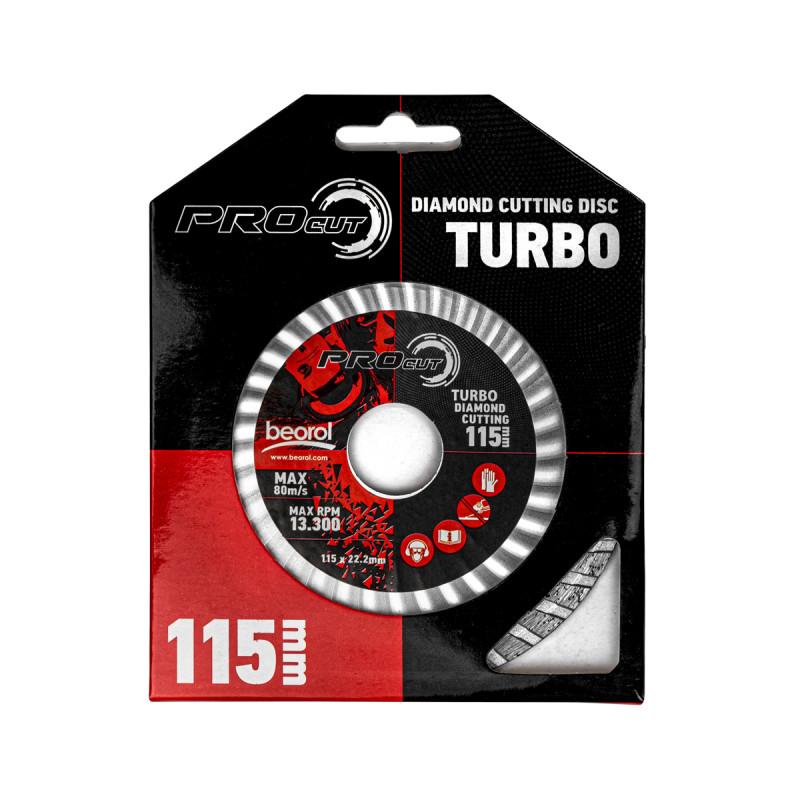 Rezna ploča dijamantska turbo 115mm