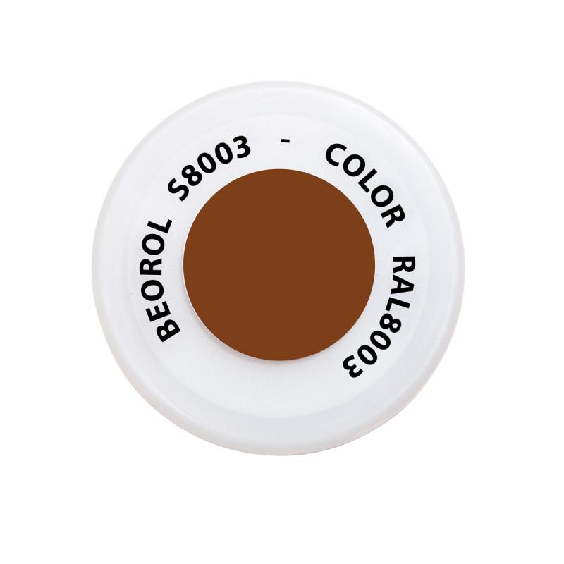 Sprej braon Castagna RAL8003